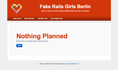 learnery with theme railsgirls